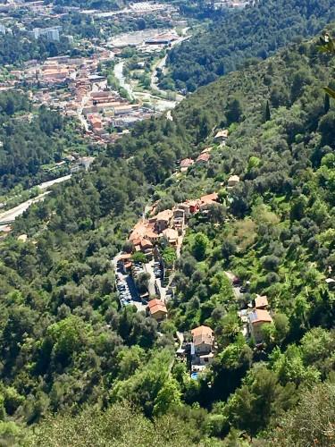 Vue sur le hameau des Cognas et Drap