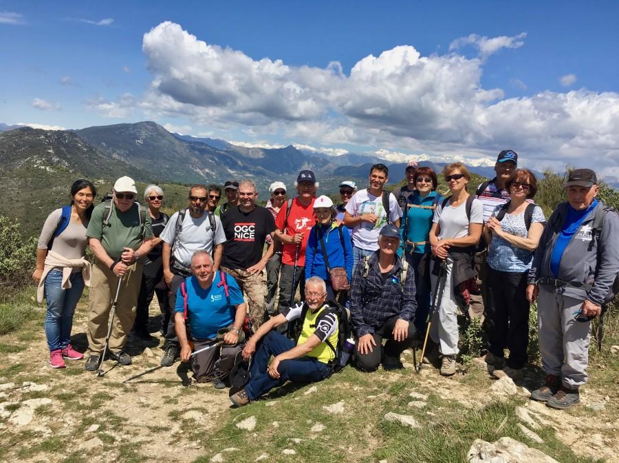 Pose au sommet du Mont Macaron vues exceptionnelles