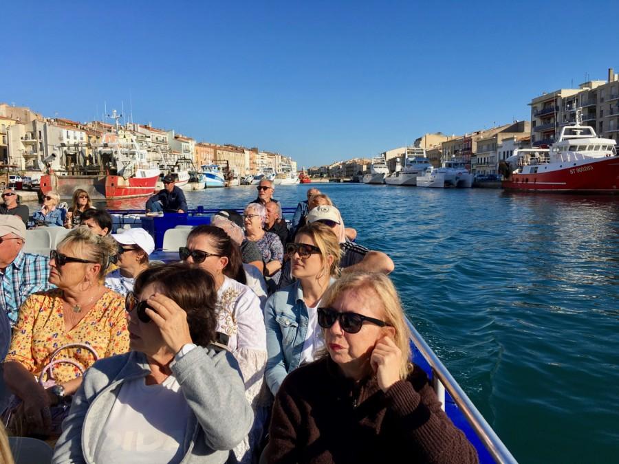 promenade sur les canaux de Sète