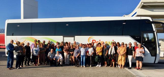 43 cantaronnais participèrent à ce voyage
