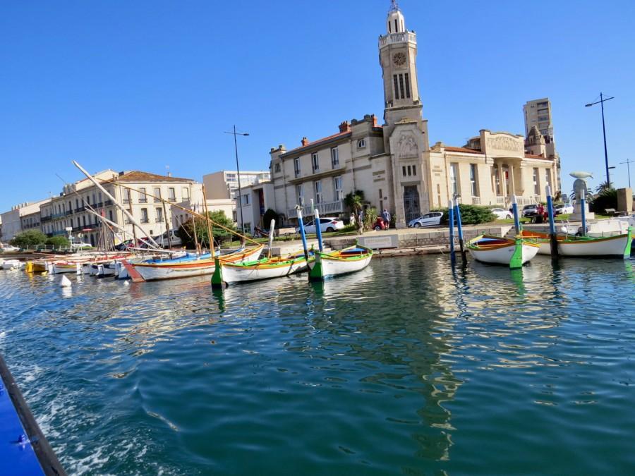les canaux de Sète et quelques pointus