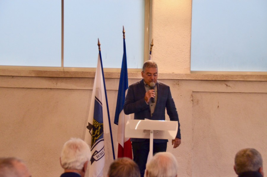Discours du maire Gérard Branda